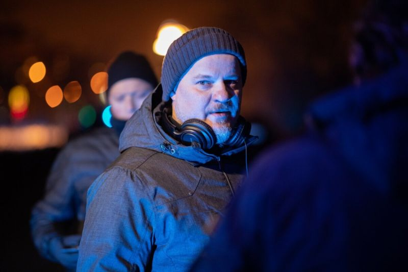"""režissöör Ergo Kuld (""""Tulejoonel"""")"""