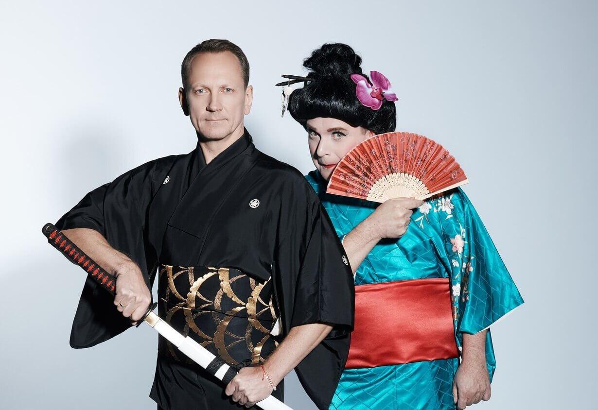 """Teet Margna ja Kristjan Jõekalda (""""Kaks kanget LIVE"""", """"Kaks kanget Jaapanis"""")"""